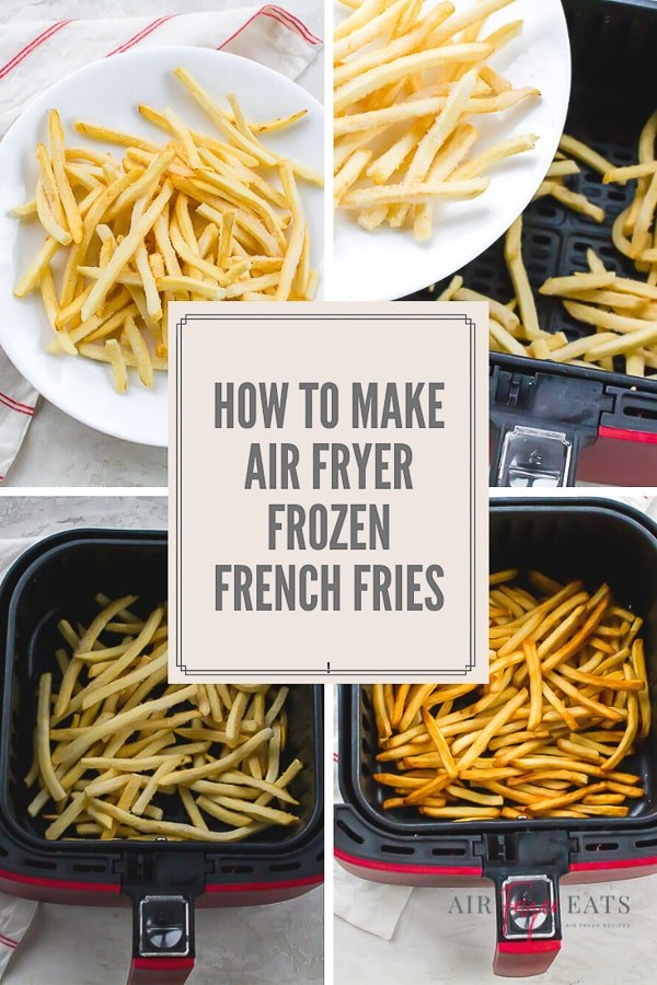 Making french fries in your air fryer is a total breeze! Just one bite of these perfectly crispy fries is like a trip to your favorite burger joint! #frenchfries #airfryerfrenchfries #frozenfrenchfries via @vegetarianmamma