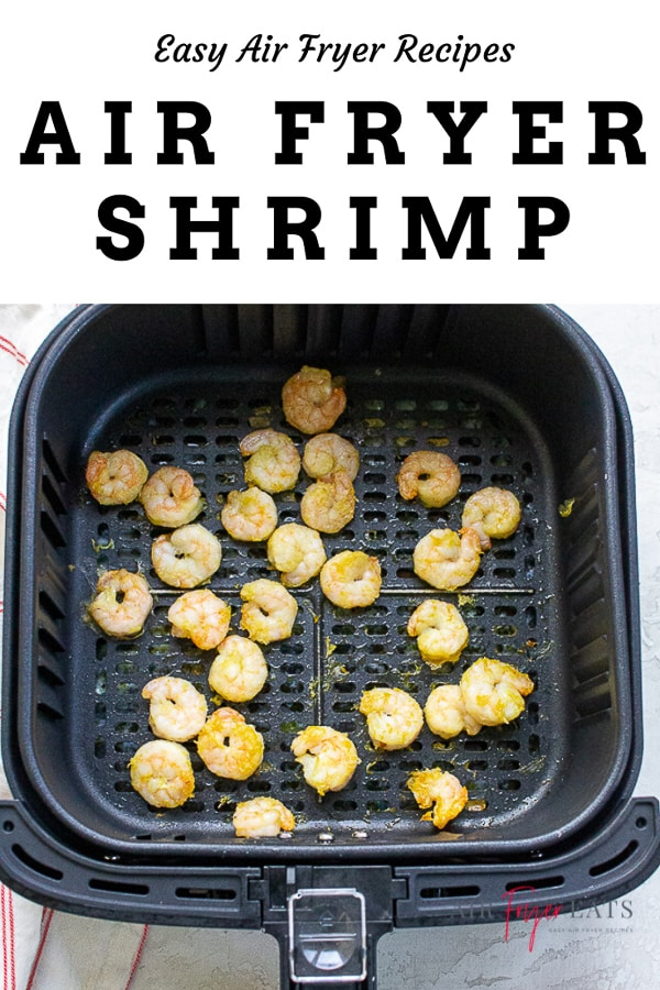 Do you love cooking seafood at home? This air fryer shrimp recipe requires only 10 minutes and 4 ingredients for the most flavorful, tender cooked shrimp! via @vegetarianmamma