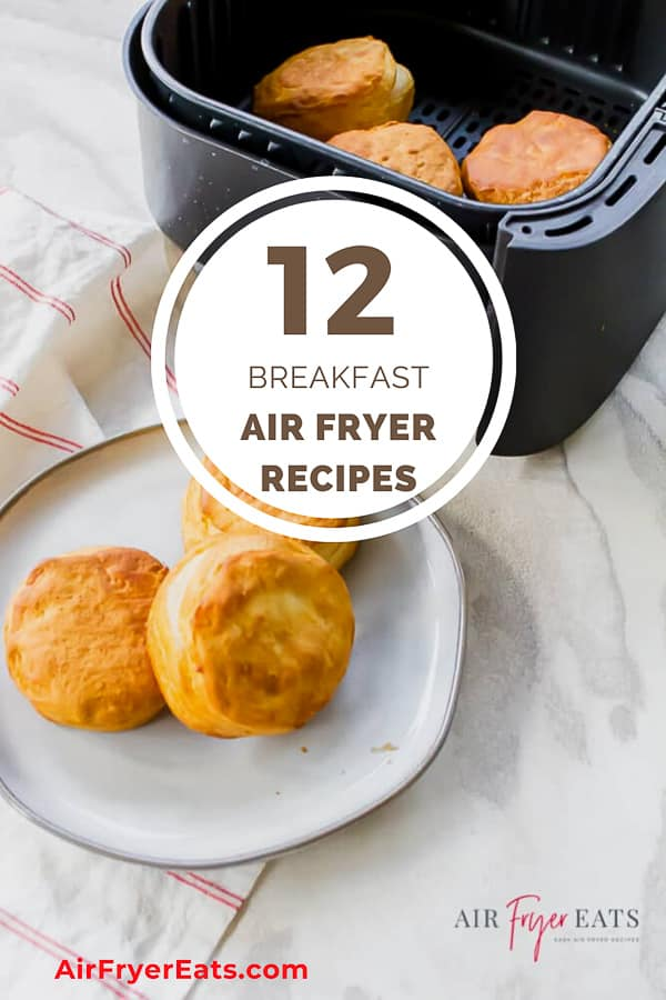 Air Fryers are rising in popularity and you can literally make every meal in your fryer! Here are some delicious air fryer breakfast recipes to start your day off right! #airfryerbreakfast #breakfast via @vegetarianmamma
