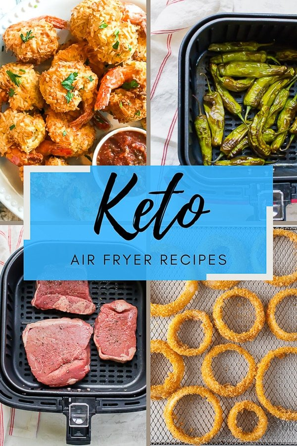 Keto Air Fryer Recipes are becoming as popular as the Keto diet its self. These easy keto air fryer recipes are delicious! #ketoairfryer #ketorecipes #ketoairfryerrecipes #airfryerketo via @vegetarianmamma