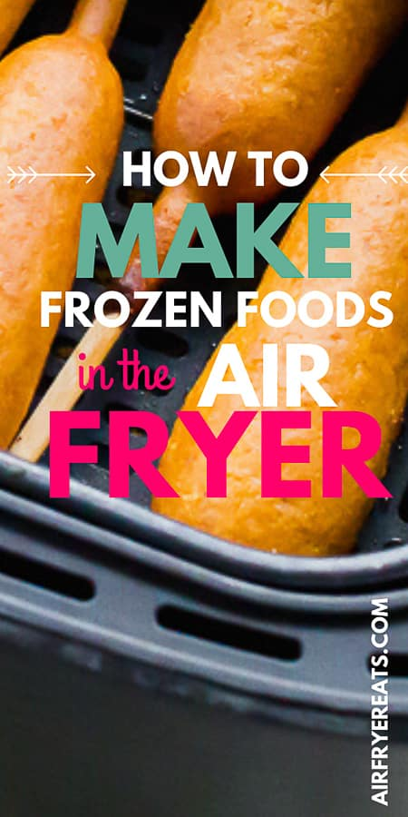 Wondering what frozen foods are perfect for the air fryer? Today we are sharing the best frozen foods for the air fryer! #airfryerrecipes #frozenfoods #airfryer via @vegetarianmamma