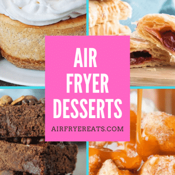air fryer desserts pin