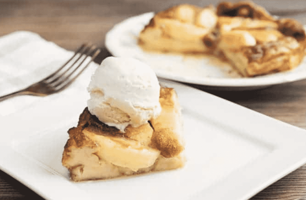AIR FRYER GERMAN APPLE PANCAKES